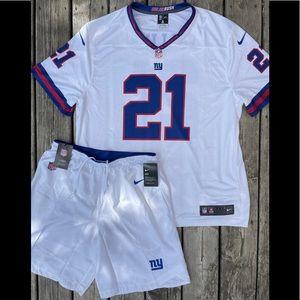 NY Giants Landon Collins Jersey and Shorts (NWT)